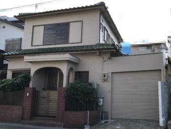 神戸市中央区 外壁塗装工事事例