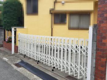 神戸市垂水区 フェンス新設工事