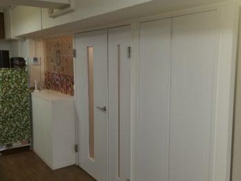 神戸市垂水区 マンション建具取替工事